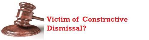 Constructive dismissal pic