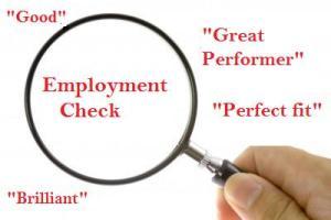 Employment check