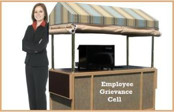 mobile employee grievance cell