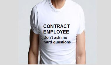 contract employee image